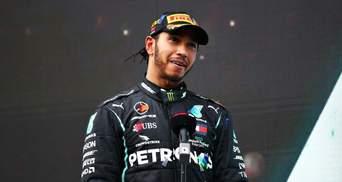 Формула-1: крушение Ферстаппена и победа Хэмилтона за два круга до финиша