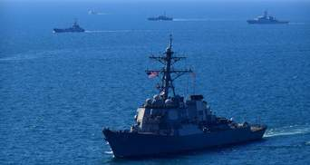 """Американські кораблі покинули Чорне море після навчань """"Сі Бриз-2021"""""""