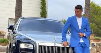"""""""День ухвалення рішення"""": Кріштіану Роналду похизувався Rolls Royce за 500 тисяч євро"""