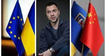 Если Запад будет дружить с Россией, Украина развернется на Восток, – Арестович