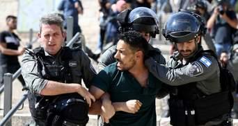 Закидали камінням: в Ізраїлі відбулися нові заворушення між палестинцями та поліцією