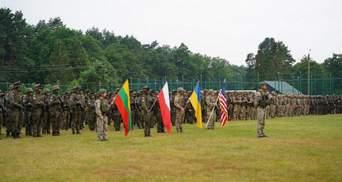 """1200 військових з різних країн: в Україні вперше стартували військові навчання """"Три мечі – 2021"""""""