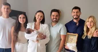 Даша Квиткова и Никита Добрынин окрестили сына: трогательные кадры