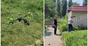 Усе через шум газонокосарки: на Запоріжжі сталася бійка зі стріляниною – відео
