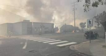 Через пожежі у Канаді Оттаву затягнуло димом