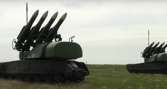 Під Кримом ЗСУ навели ракети на умовні ворожі літаки: відео