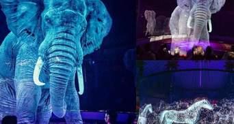 Голограми замість живих тварин: у Польщі запрошують відвідати незвичний цирк