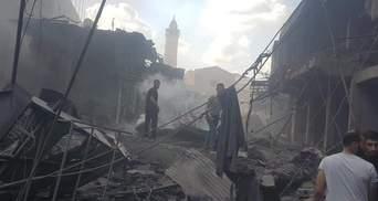 1 вбитий та 10 поранених: на ринку в секторі Гази прогримів вибух – фото, відео