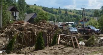 Убытки от паводка на Закарпатье достигли более 150 миллионов гривен