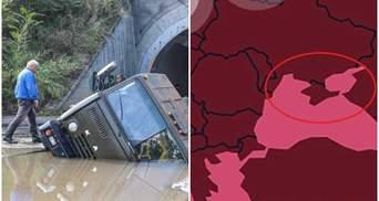 Главные новости 22 июля: потоп и смерчи на Юге и Востоке, жалоба России на Украину в ЕСПЧ