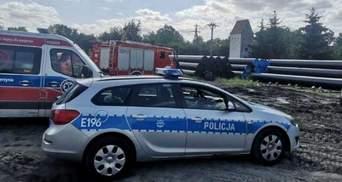 У Польщі українця розчавила 10-тонна труба