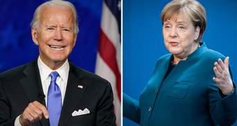 Без гарантій для України: в уряді пояснили, що не так з угодою Меркель – Байдена