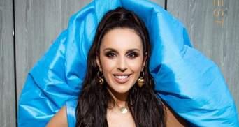 Джамала поразила ярким образом в голубом наряде: эффектные фото