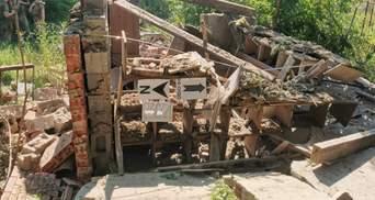 Боевики из минометов обстреляли Опытное: дома мирных жителей разрушены – фото