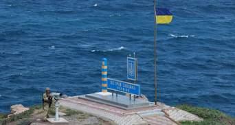 На окупацію натякав Путін: військове командування України перевірило острів Зміїний