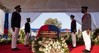 З сутичками та пострілами: на Гаїті попрощались з президентом Моїзом