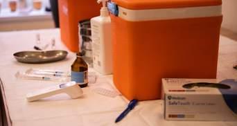Темпи вакцинації проти COVID-19 в Україні дещо знизились