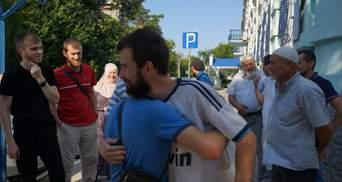 Затриманого в Євпаторії кримського татарина Ібрагімова випустили з СІЗО: фото