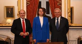 Лукашенко может использовать российские войска для шантажа Украины, – Тихановская