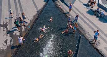 Жителі Дніпра досі купаються у фонтані, де смертельно травмувався 4-річний – фото
