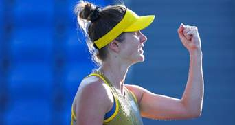 Элина Свитолина с камбэком вышла в 1/8 финала Олимпиады в Токио