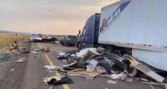 Автотроща із 7 загиблими: піщана буря у США спричинила масштабну ДТП