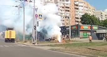 """""""Ворота в пекло"""": у Харкові з-під землі вирвався стовп вогню – шокуюче відео"""