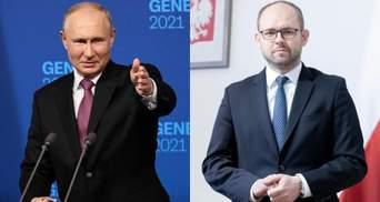"""Фейки Путіна про """"один народ"""" приречені на провал, – МЗС Польщі"""