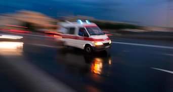 Водитель скорой сбил пешехода в Харькове: дедушка сразу умер