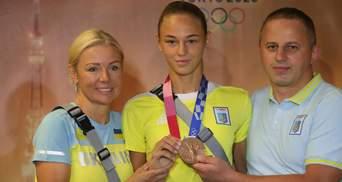 Эта медаль всегда будет в истории, – Дарья Белодед вернулась в Украину с Олимпиады: фото