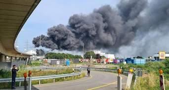 Футбольный клуб Байер был вынужден перенести тренировку из-за взрыва на химическом заводе