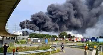 Взрыв на химзаводе в Германии: 16 человек пострадали, 1 погиб, 4 разыскивают