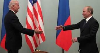 Байден мириться з Путіним: чому не спрацює стратегія США щодо Росії