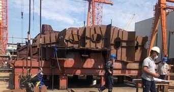 Йдуть за графіком: Міноборони показало будівництво корвета для України в Туреччині
