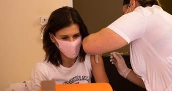 Со вчерашнего дня против COVID-19 вакцинировали более 140 тысяч украинцев