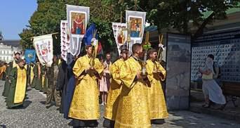 У Києві Православна церква України відзначила річницю хрещення Русі