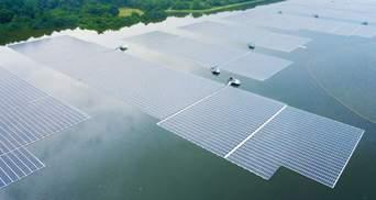 Потужність вражає: Сінгапур запустив плавучу сонячну ферму на Тенгеському водосховищі