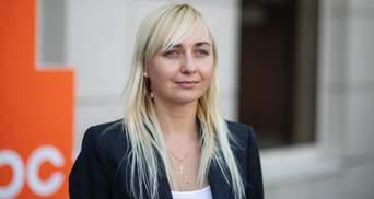 """Партія однієї людини, – Устінова заявила про вихід з """"Голосу"""""""