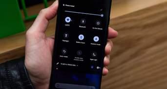 """Як економити заряд батареї на смартфоні завдяки """"темному режиму"""""""