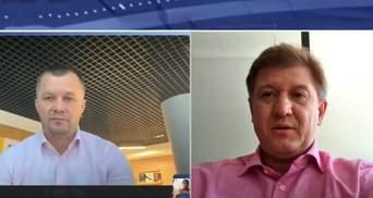 Имей совесть, я не вымахивался, – Милованов и Данилюк поспорили в эфире 24 канала
