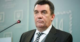 СНБО уж точно соберется на Донбассе: Данилов назвал ключевые вопросы