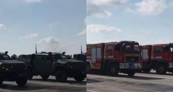 У Чернігові провели репетицію військового параду до Дня Незалежності: фото