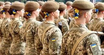 Скільки дівчат вступили у військові виші та коледжі у 2021 році: дані Міноборони