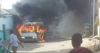 В Сомалі підірвали автобус з футболістами, є загиблі