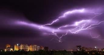 На Украину надвигается гроза: где объявили штормовое предупреждение