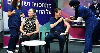 Перший у світі: президент Ізраїлю Герцоґ отримав третю дозу вакцини проти коронавірусу