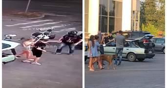 У поліції прокоментували бійку байкерів з молодою парою в Черкасах