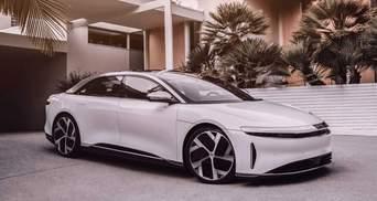 Новий конкурент Tesla: Lucid Motors вийшли на біржу з величезною капіталізацією