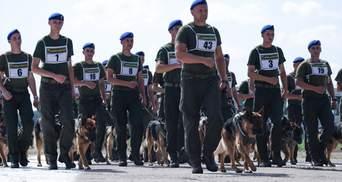 Військові провели першу репетицію параду до Дня Незалежності: фото