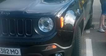Водій Jeep збив у Трускавці 11-річного хлопчика: фото